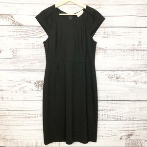 Kate Spade Little Black Dress with Cap Sleeves